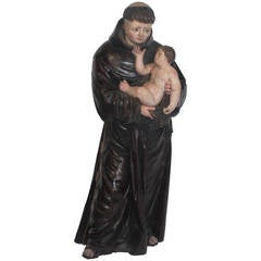 19th Century St Francis Xavier Sculpture, SJ