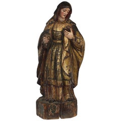 Late 18th Century Virgin Mary