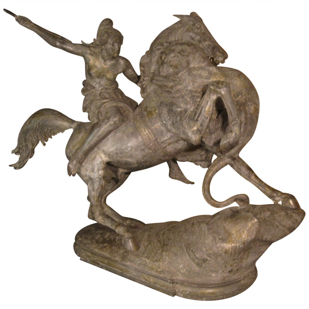 August Karl Eduard Kiss Sculpture, 19th Century