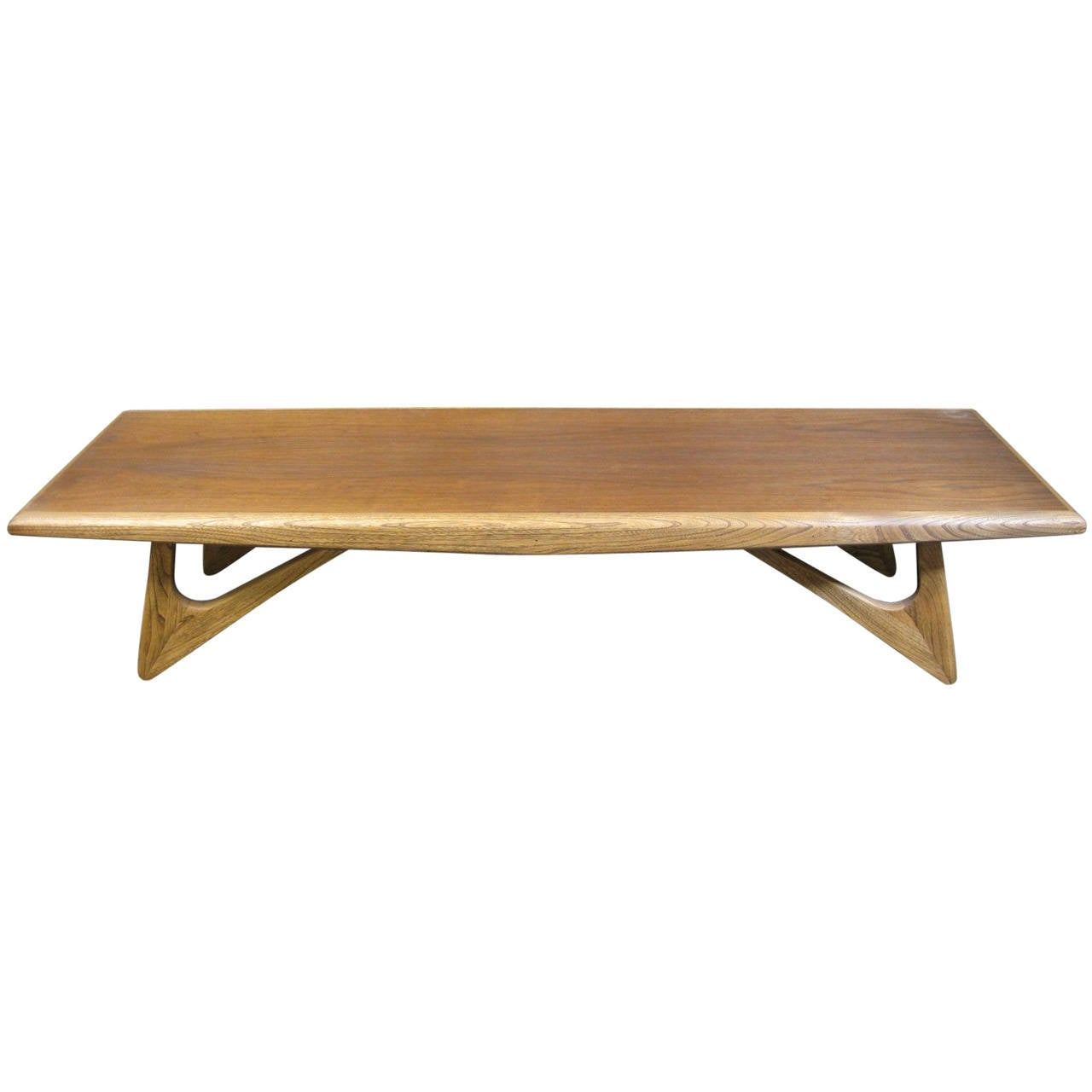 Adrian Pearsall Style Coffee Table Mid Century Modern at