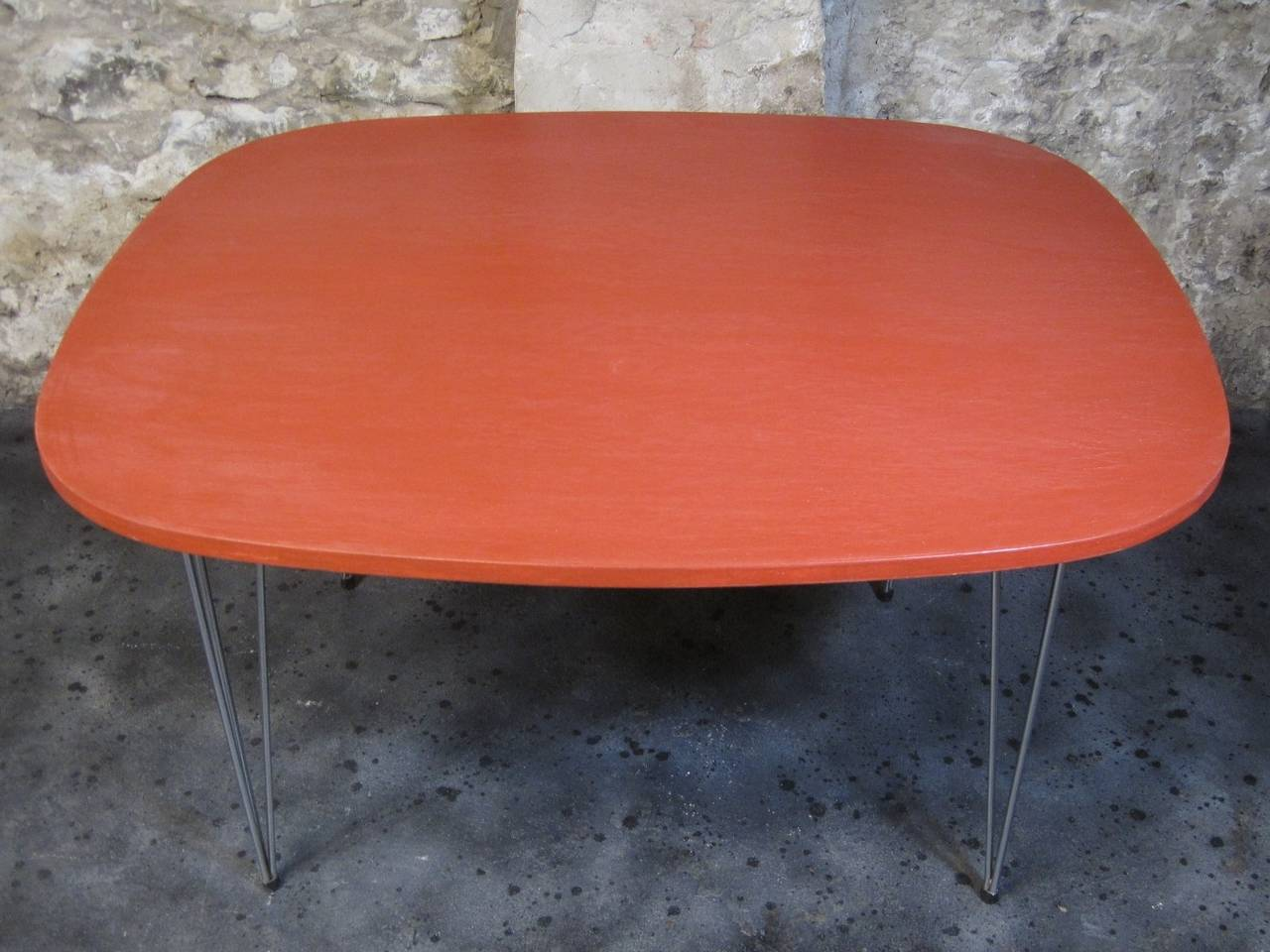 """Hans Brattrud """"Scandia"""" Dining Table and Chairs Mid Century"""