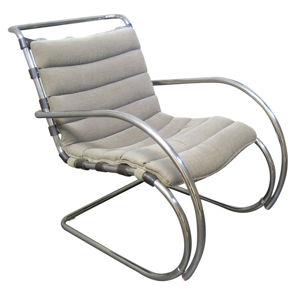 mies van der rohe mr chair for knoll at 1stdibs. Black Bedroom Furniture Sets. Home Design Ideas