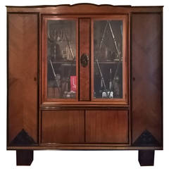 Art Deco Cabinet, Entertainment Center
