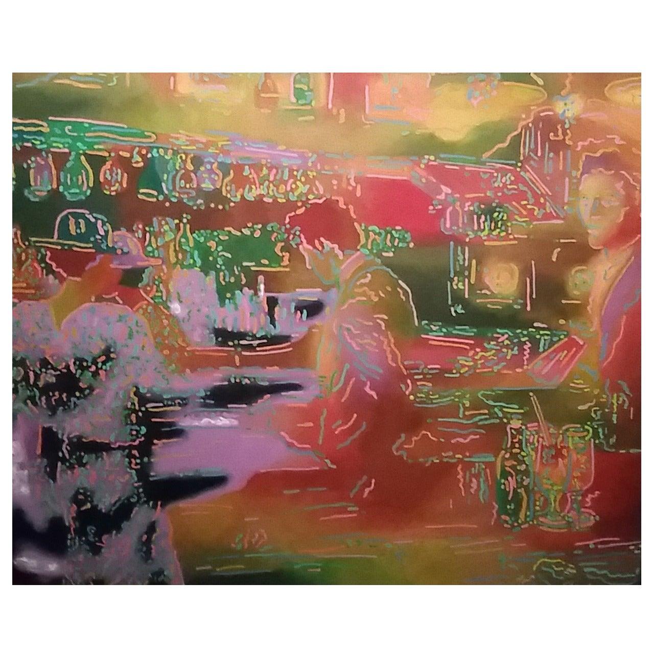 Simon Shegelman Oil on Canvas Painting