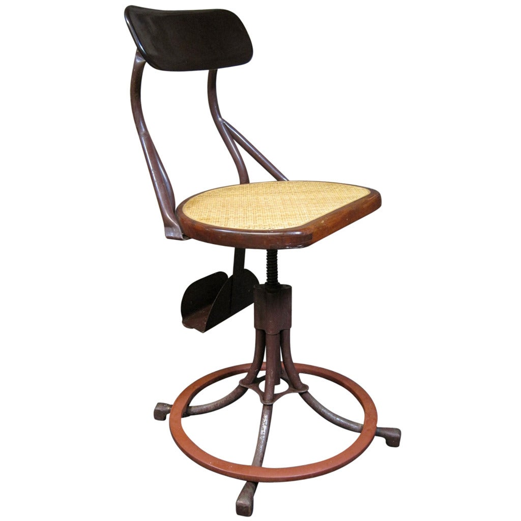 Machine Age Modern Medical Chair For Sale