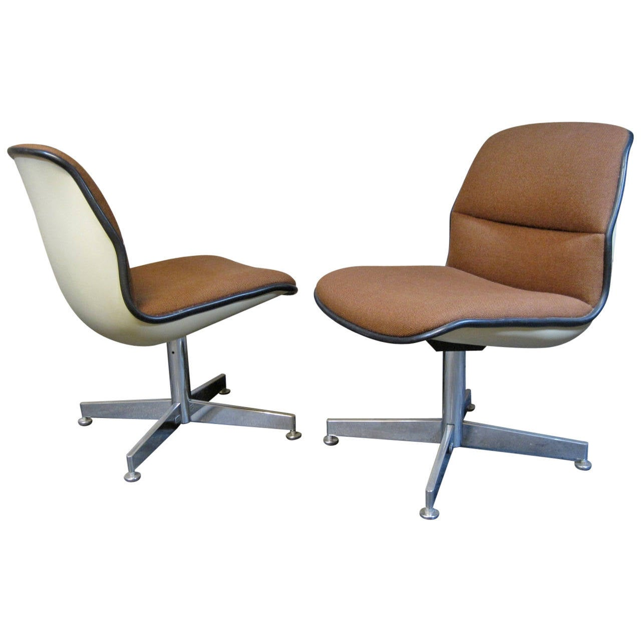 Charles pollock style chairs mid century modern at 1stdibs for Mid century modern style chairs
