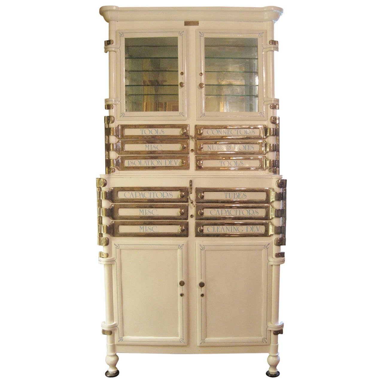Aseptic Dental Cabinet, circa 1920s For Sale at 1stdibs