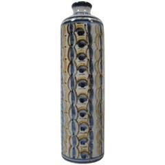 Lauritz Hjorth Danish Mid-Century Modern Stoneware Vase