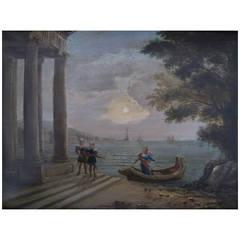 Neoclassical Venetian Oil Painting