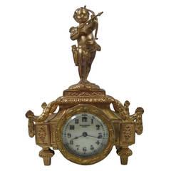 New Haven Figural Cherub Clock, 19th Century