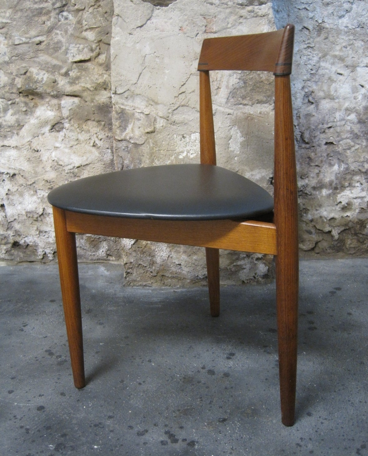 Teak Dining Table And Chairs: Hans Olsen For Frem Rojle Teak Dining Table And Chairs