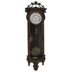 Vienna Regulator Wall Clock, 19th Century