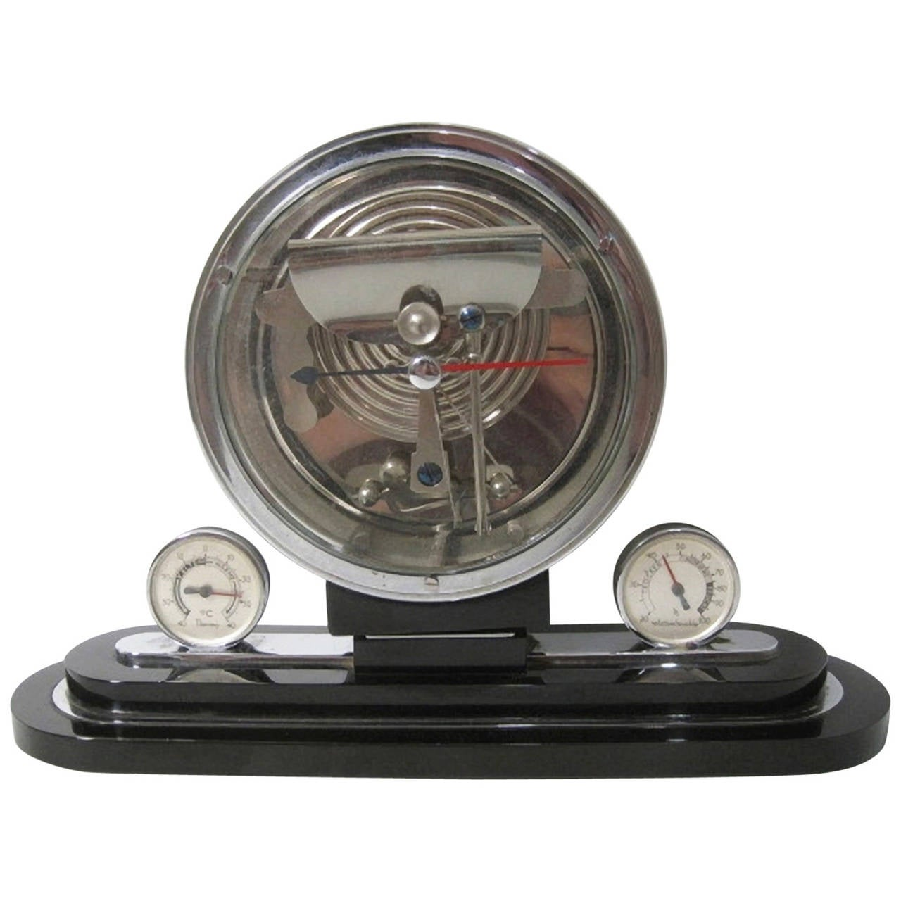 German Art Deco Desk Top Barometer and Weather Station