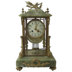 19th Century French Mantel Clock, Louis XVI Style
