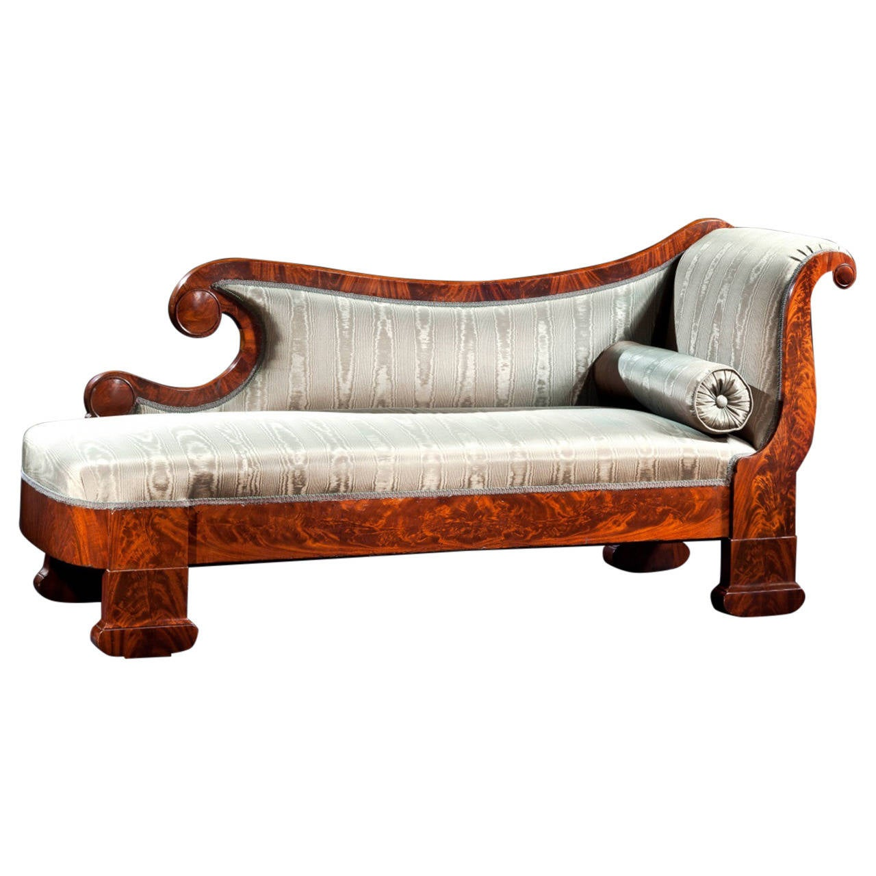 Restoration Grecian Or Recamier Couch Circa 1835 For