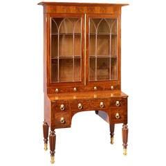 Federal Mahogany Secretary and Bookcase, circa 1820