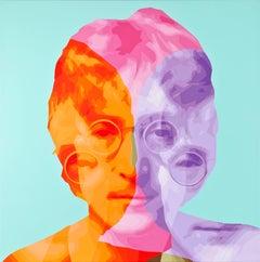 John Lennon with Treble Meanings No.2