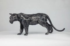 Tiger Sculpture by Ivan Zanoni