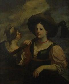 Allegoria della Primavera - 17th Century Old Master Figurative Oil Painting