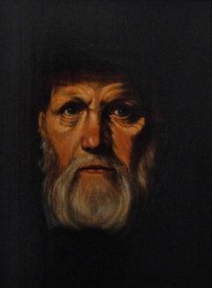 Portrait Painting of Dirck Volckertsz Coornhert - 17th Century Old Master in Oil