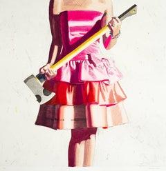 Birthday Girl - 21st Century, Pop Art, Print by Kelly Reemtsen on Etching