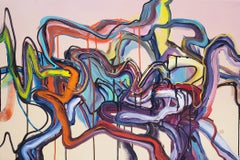 Maybejusteitheror_3 - Abstract Painting, Abstract Expressionist, 21st Century