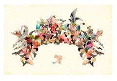 Arche - Figurative Print, Surrealist, 21st Century, Delphine Lebourgeois