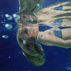 Reflection - Contemporary, Figurative Painting, Oil on Canvas, Issac Petersen