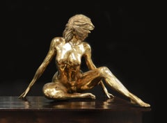 Marilyn - Nude, Bronze Sculpture, Contemporary, Christian Maas
