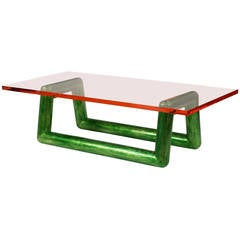 Jelly Coffee Table by Mattia Bonetti. IN stock.