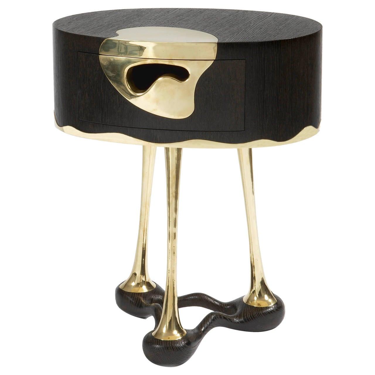 UFO Side Table by Mattia Bonetti. In stock.