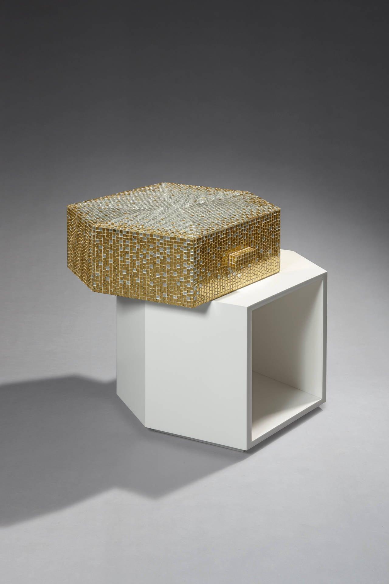 Bijou Side Table by Mattia Bonetti. In stock 5