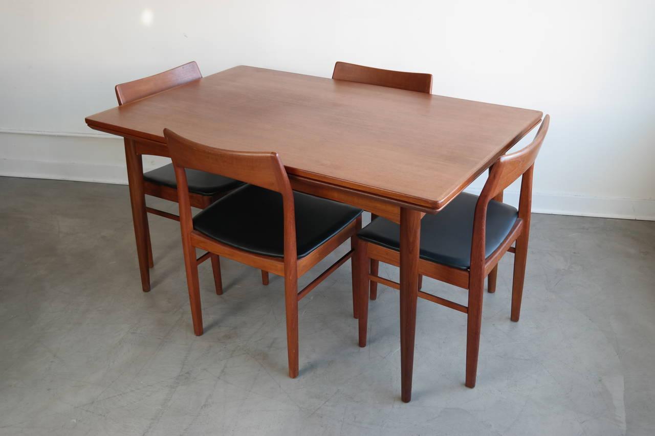 danish modern dining set in teak for sale at 1stdibs