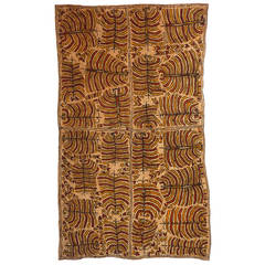'Misaje' by Martha-Jean Uhamo, Australian Aboriginal Bark-Cloth Painting