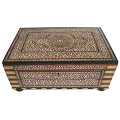 Anglo-Indian Rosewood Writing Desk, India, circa 1825