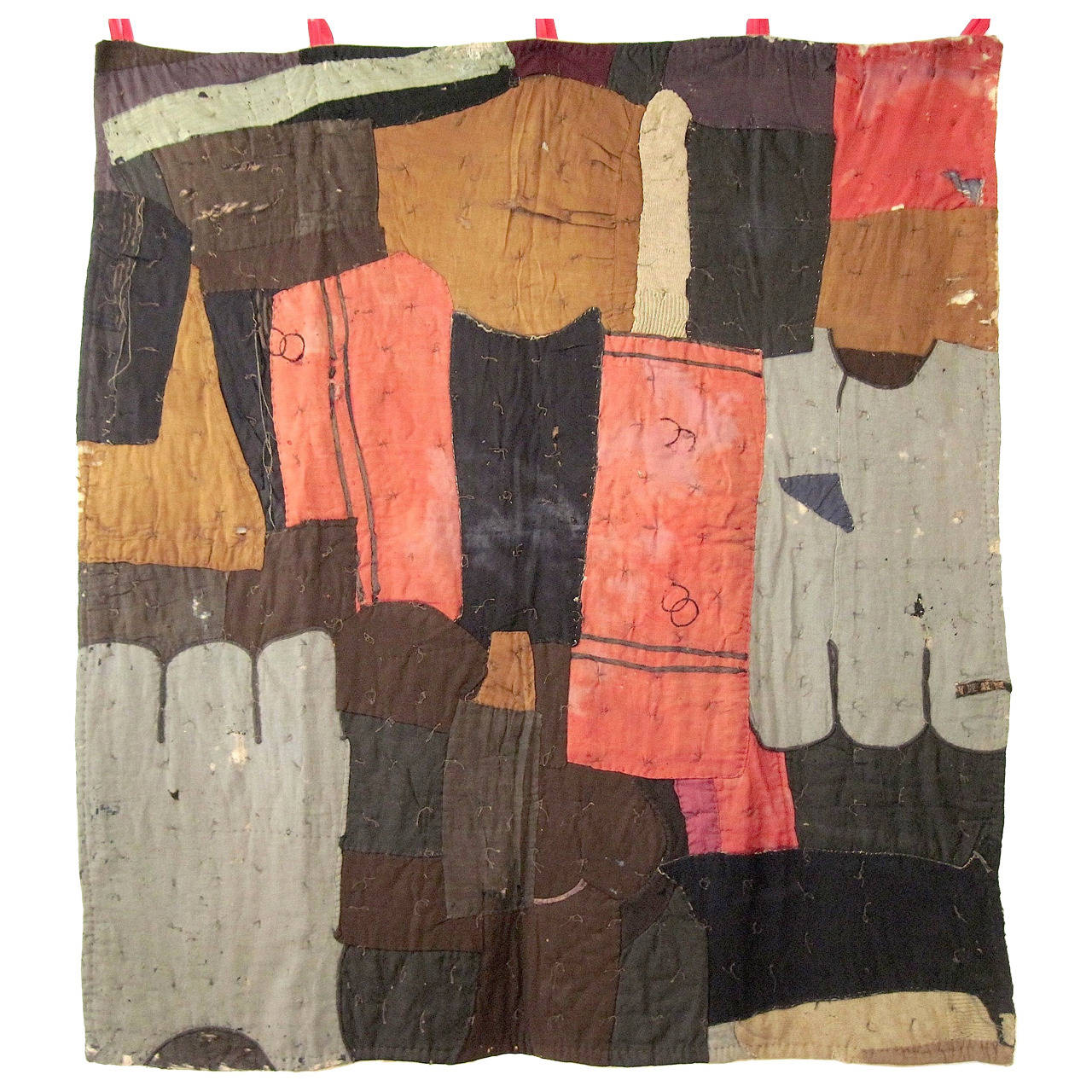 Rare African American Quilt, circa 1900 For Sale