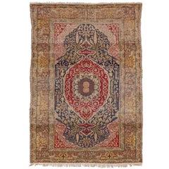 Antique Turkish Kayseri Rug
