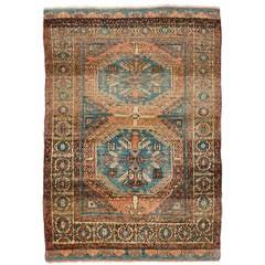 """Vintage Nomadic """"Yatak"""" Rug from Central Anatolia"""