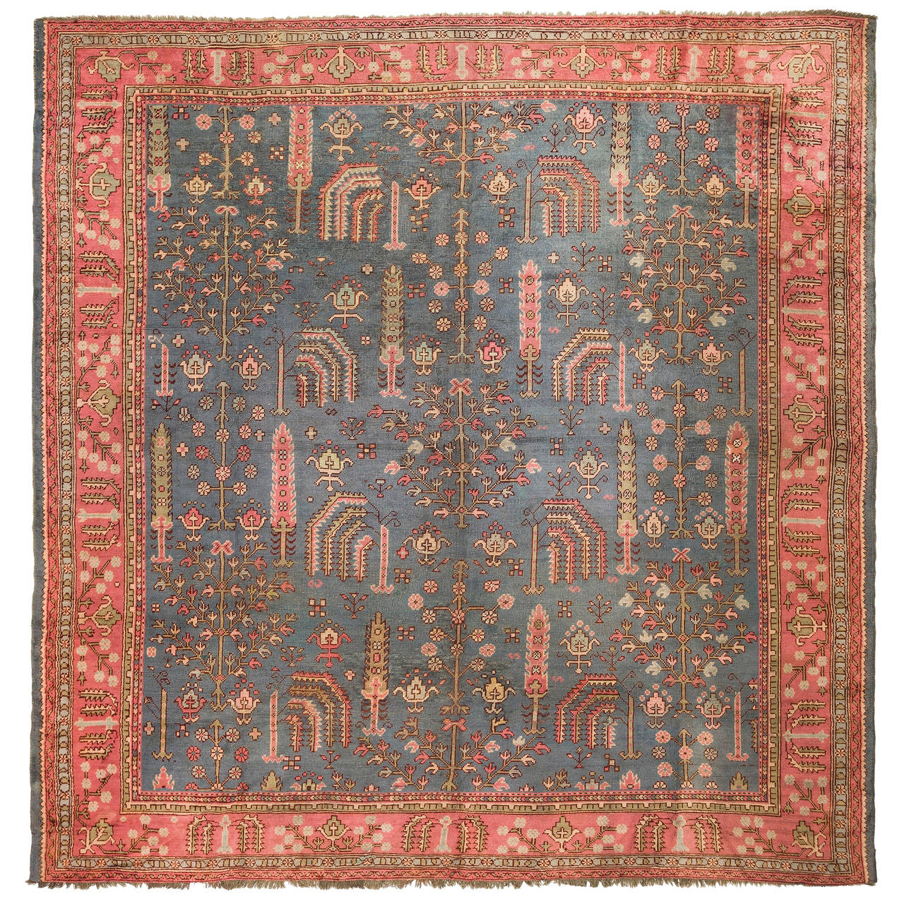 silk cent highres rugs antique ottoman transylvanian turkish rug prayer late dealer knights design