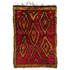 "Vintage Central Anatolian ""Tulu"" Rug"