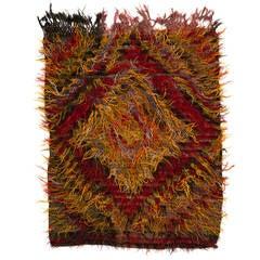 Tulu Rug made of Angora Mohair Wool