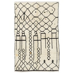 Contemporary Moroccan Wool Rug - Custom Options Available
