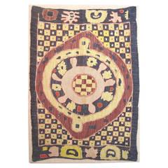 Rare and Unusual Caucasian Kaitag Embroidery, c. 1800