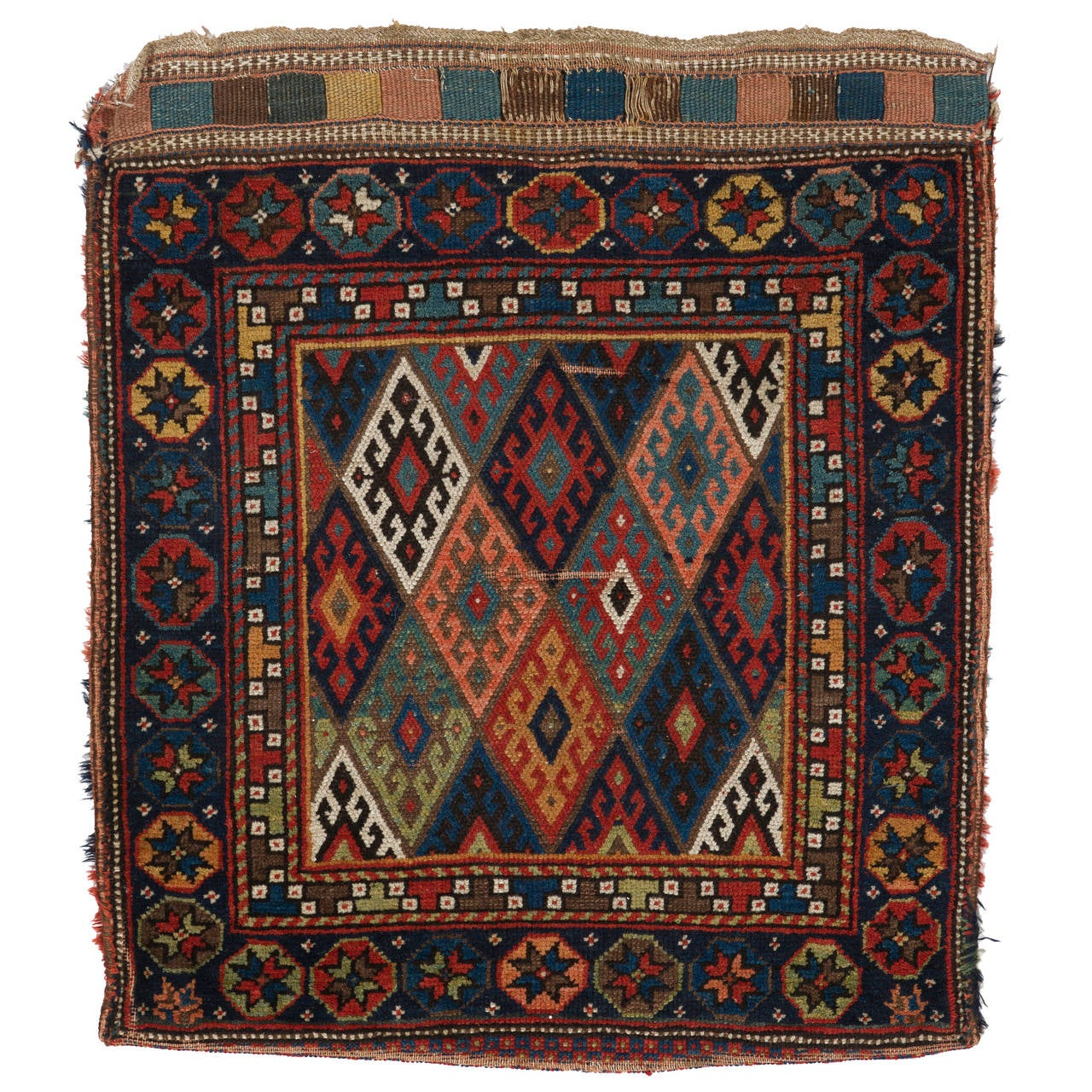 Antique Persian Tribal Cushion Cover For Sale At 1stdibs