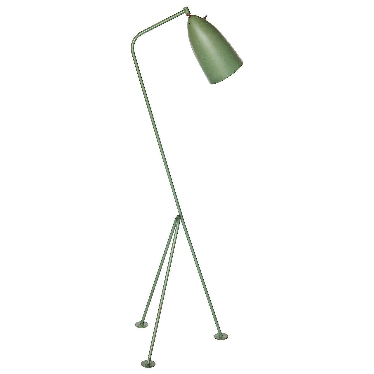 grasshopper floor lamp by greta grossman for sale at 1stdibs. Black Bedroom Furniture Sets. Home Design Ideas