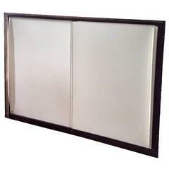 Jean Prouvé Sliding Cabinet Doors in Frames