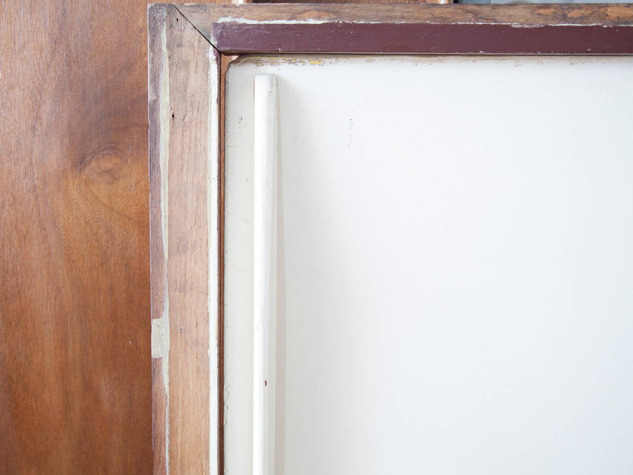 French Jean Prouvé Sliding Cabinet Doors in Frames For Sale