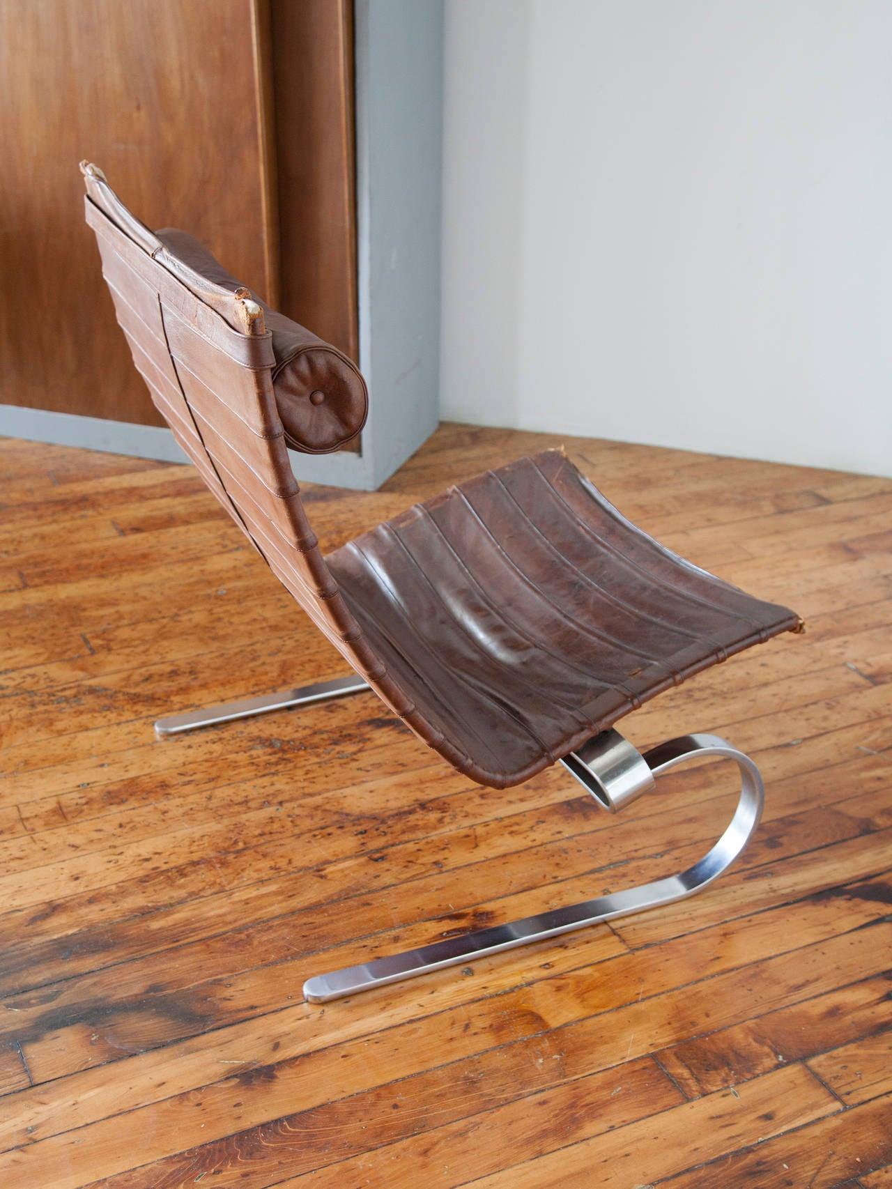 Modern Early Production PK-20 Lounge Chair by Poul Kjærholm