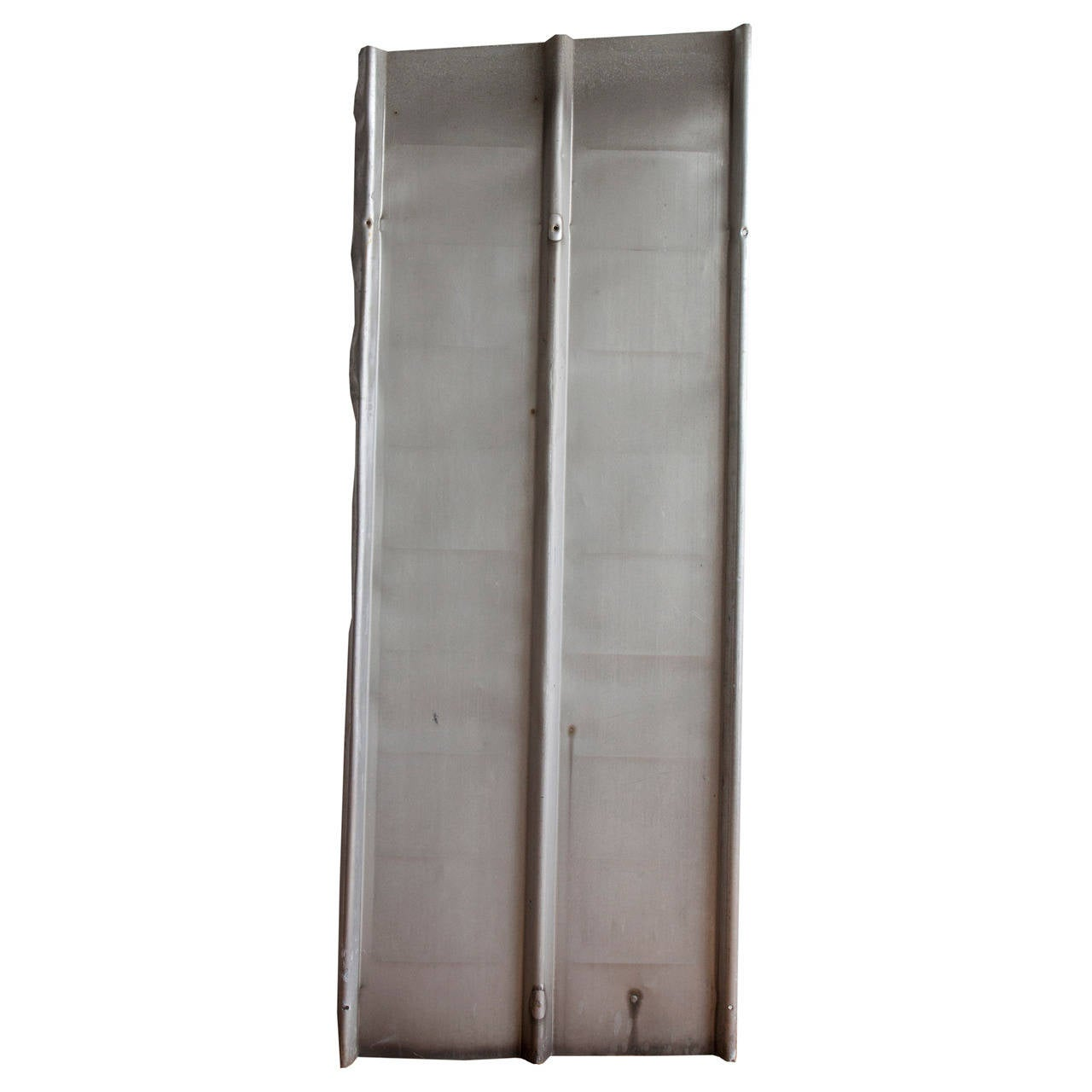 Ten Aluminium Architectural Panels by Jean Prouvé For Sale