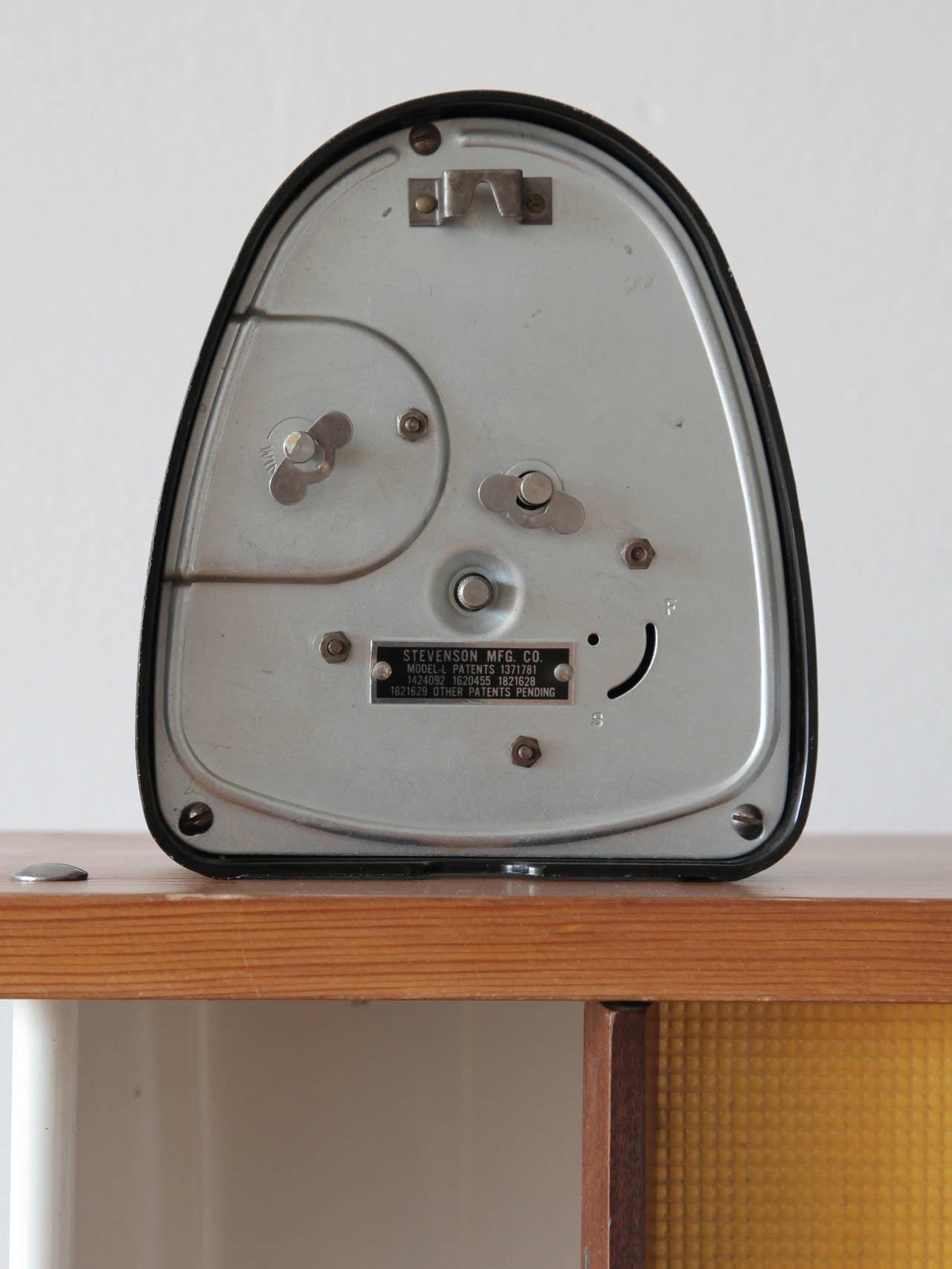 Measured Time Clock and Kitchen Timer by Isamu Noguchi For Sale at